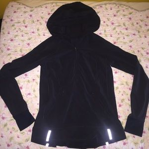 Lululemon all black dry fit quarter zip jacket!!